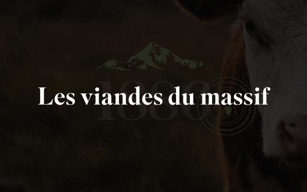 1886 Les viandes du Massif